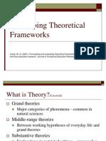 WED 592Theoretical Framework