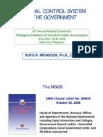 Govt Internal Control System Rufo Mendoza