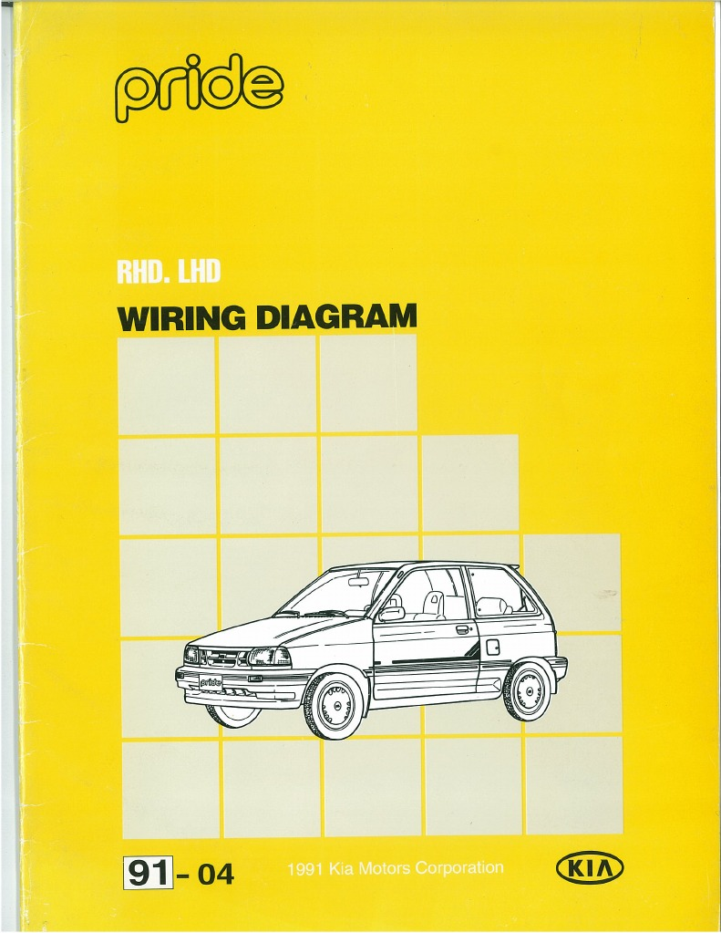 kia pride electrical wiring diagram pdf kia pride electrical wiring diagram