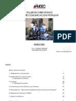Taller de Creatividad sobre Comunicación Popular