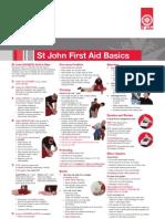 St John First Aid Basic