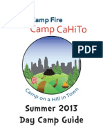 Camp CaHiTo Parent Guide Book