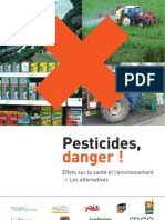 Pesticides Danger