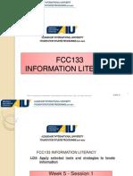 Week05-FCC 133 Search Strategies Basic