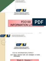 Week06-FCC 133 Search Strategies Basic