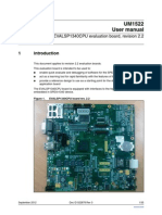 EVALSP1340CPU evaluation board, revision 2.2