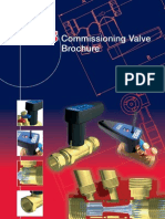 Commissioning Valve Product brochure