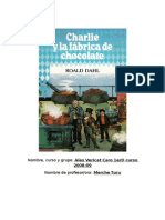 Resumen de Charlie y la Fábrica de Chocolate