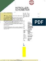 Uc Based Tachometer