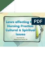 Laws affecting Nursing Practice