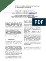 Control Predictivo No Lineal Aplicado a Columnas de Etanol