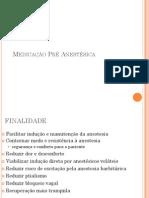Medicação Pré-Anestésica - Aula