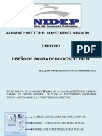 DISEÑO DE PAGINA DE EXCEL