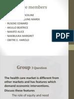 Health Economics Slide