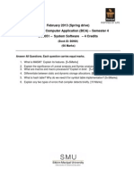 BC0051 Assignment Spring Season 2013