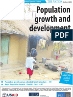 Population growth and development