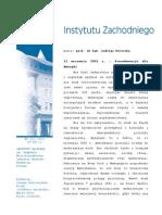 """Jadwiga Kiwerska """"11 września 2001 r. – Konsekwencje dla Ameryki"""""""