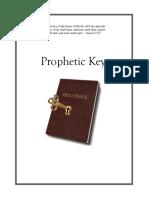 Prophetic Keys Manual