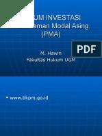 Hukum Investasi - Dr.Hawin
