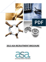 2013 asa recruitment brochure
