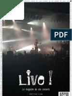 Live! - Le magazine de vos concerts