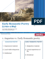 18. Early Romantic Poetry