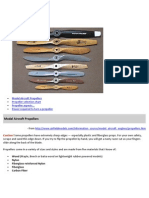 Model Aircraft Propellers 1