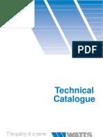 Watts Technical Catalogue