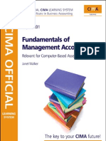 CIMA Fundamentals of Management Accounting 4e Aug.2009