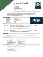 M.Junaid Ar CV