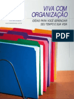 Viva com organização (ebook)