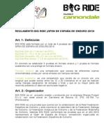 Reglamento Open Enduro 2013