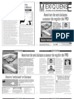 Versión impresa del periódico El mexiquense 26 marzo 2013