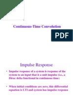 Convolution, signal convolution