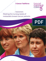 Breast Cancer Care Guide for Commissioners