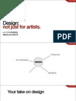 "D-Lab @ ITU Punjab Lecture 1 ""Design - Not just for artists"""