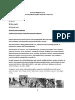 Materii Prime Folosite in Industria Produselor Alimentare Extractive