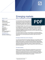 Emerging Markets Who is Vulnerable to Overheating