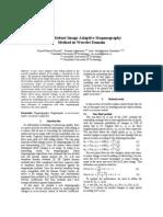 A New Robust Image Adaptive Steganography