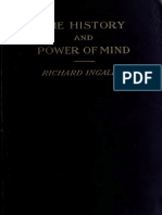 The History and Power of Mind - Richard Ingalese