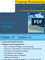 Chapter 19 Corporate Restructuring 1ce Lecture 050930