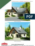 Projekt Domu Dom Przy Cyprysowej 8