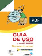 Guia de Uso Cocinas Solares