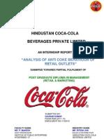 Hindustan Coca Company Report