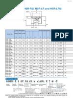 THK Rail Catalogue