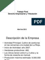 Impuestos Empresa