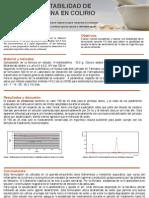 Estudio Estabilidad N-Acetilcisteina Colirio
