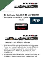 Le laisser-passer de Borderless
