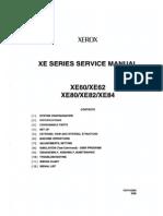 Xerox XE60-62-80-82-84 Svc Mnl