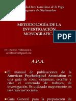 Metodologia de La Invest APA Monografias (1)